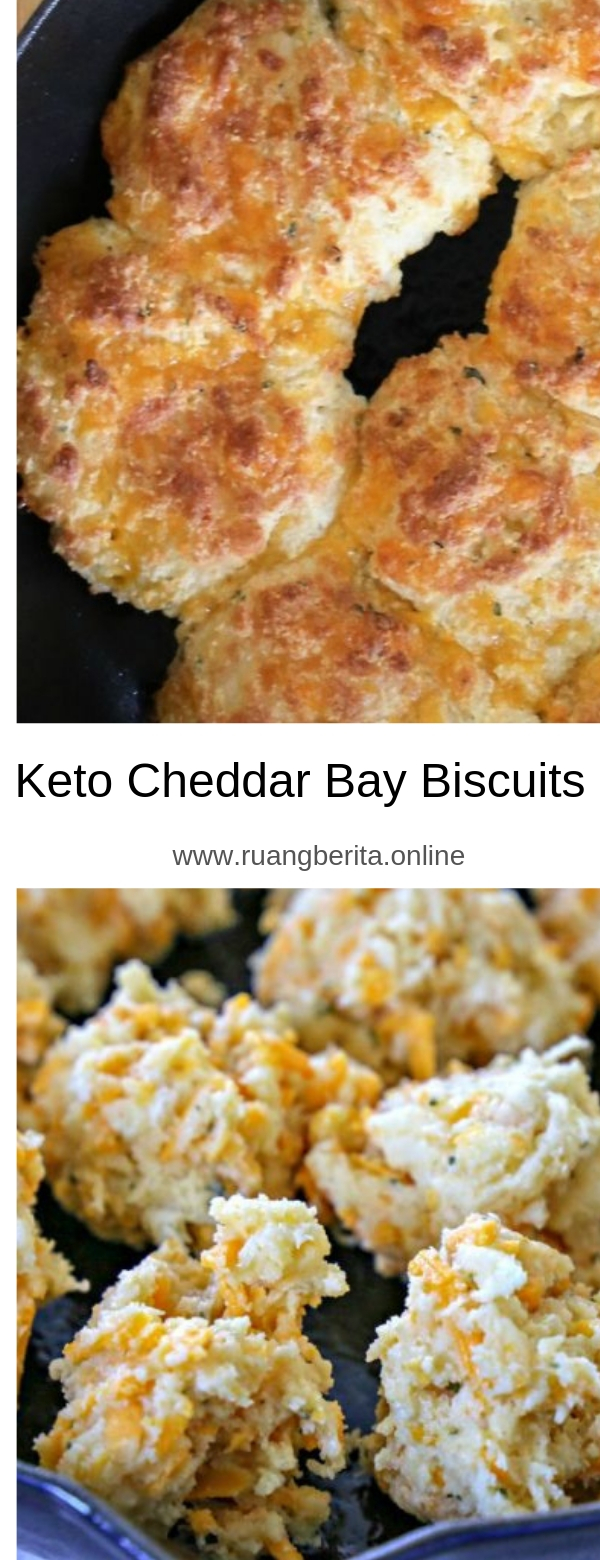 Keto Cheddar Bay Biscuits