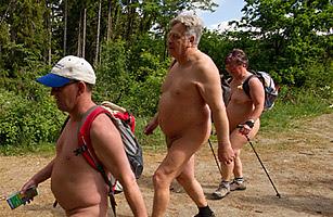 Naked German Hikers 87