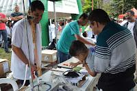 O Dia da Cidadania também teve demonstrações de experimentos científicos