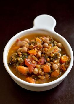 Chickpea Lentil Soup