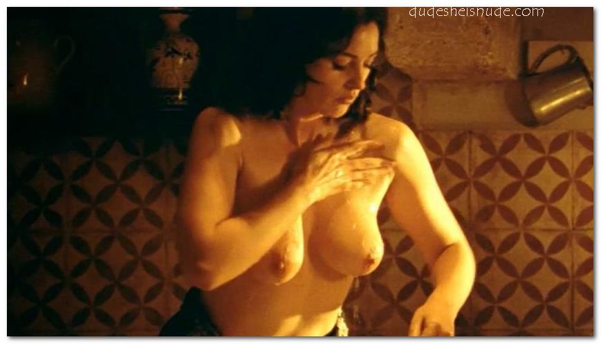 Monica bellucci nude show vagina Should you