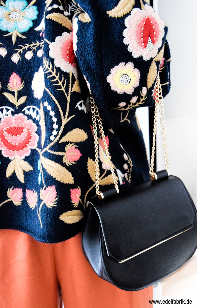schwarze Tasche von C&A Minibag