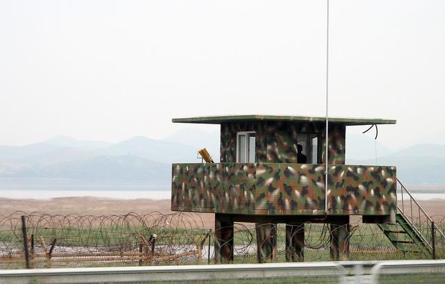 Guard Tower along the DMZ