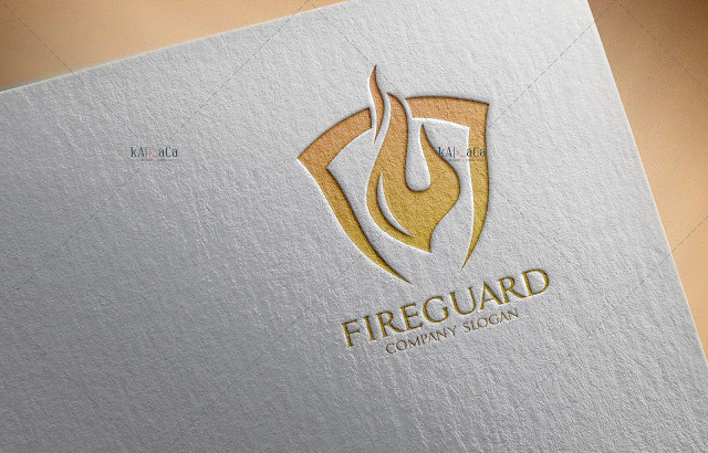 Fire Guard - WaDesiGh Logo Template