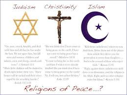 my thoughts   : Religion - Peace or War ?