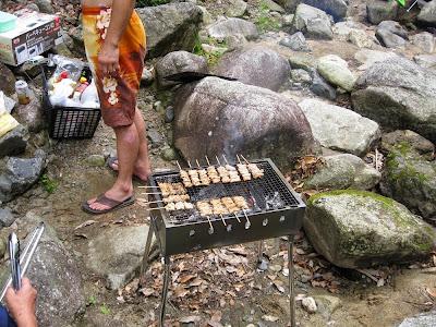 小岐須渓谷でバーベキュー(BBQ)