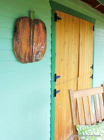 hello fall, autumn, pumpkin sign, jigsaw, the great pumpkin, reclaimed wood, http://goo.gl/RHR2Yq