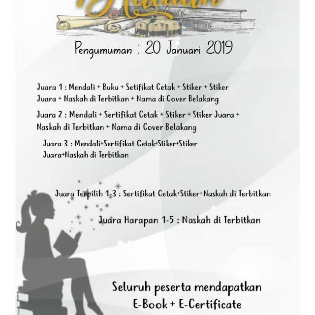 Contest Cerpen, Cermin, Puisi KaryaGoressanTangan 2018