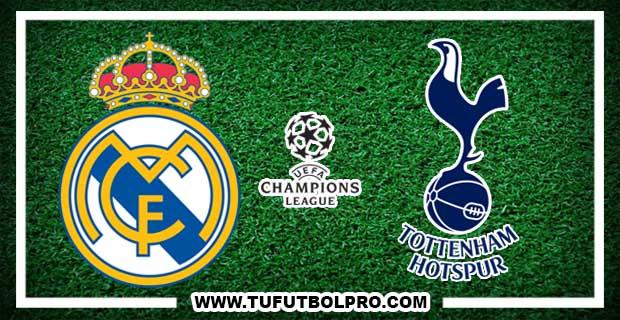 Ver Real Madrid vs Tottenham EN VIVO Por Internet Hoy 17 de Octubre 2017