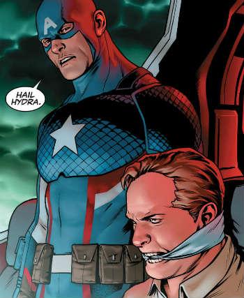 Marvel lo vuelve a hacer: el Capitán América siempre ha sido malo