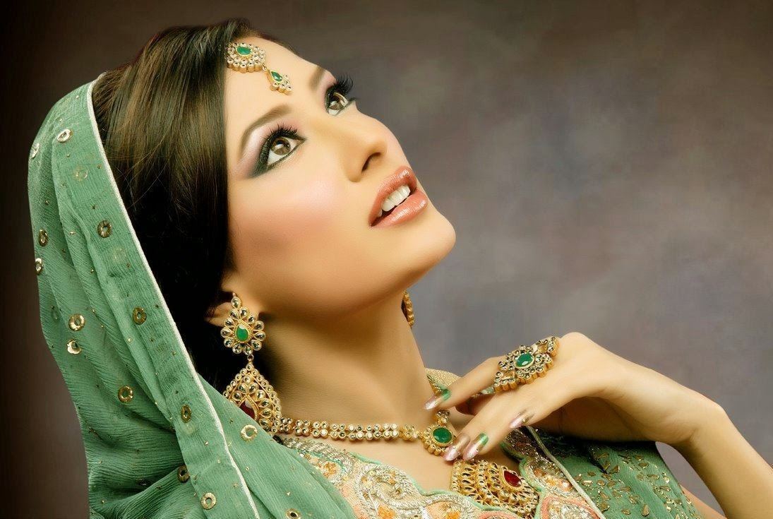 tattoink: pakistani bridal makeup 2013 for wedding