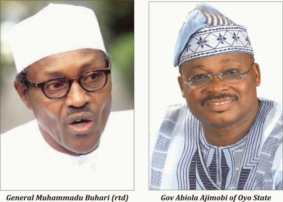 Image result for Abiola Ajimobi AND BUHARI