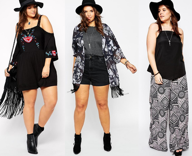 Shapely chic sheri plus size fashion and style blog for Bohemian style fashion blogs