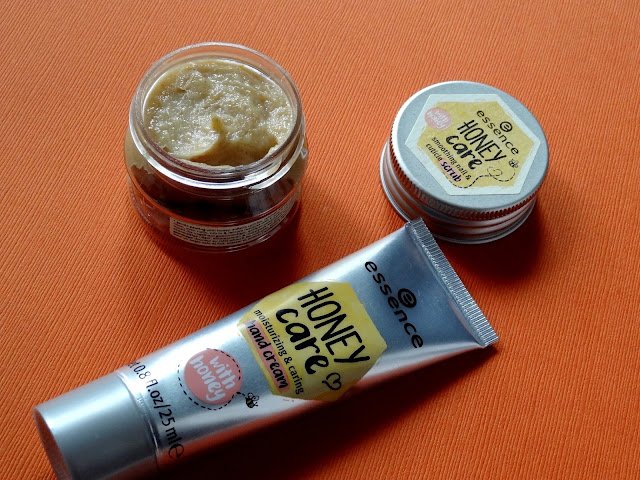 Essence Honey Care Smoothing Nail & Cuticle Scrub and Hand Cream