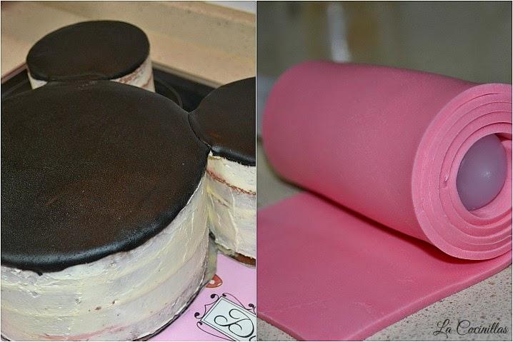 Decorar Tarta Minnie