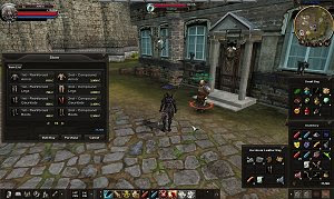 Rosh Online Karos PC MMORPG game PvP oriented