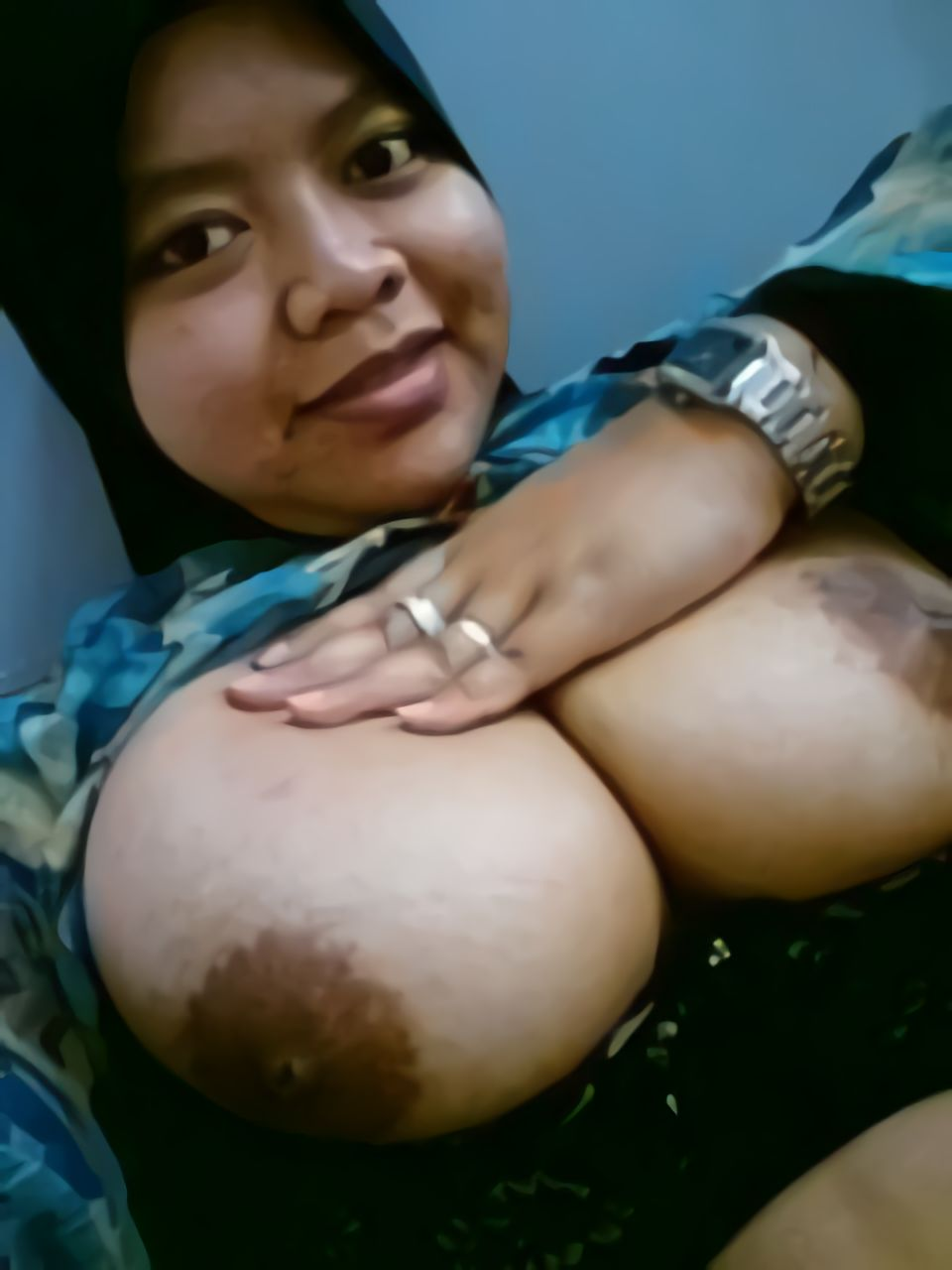 Tante Jilbab Toket Gede - Payudara Toket Gede-1096