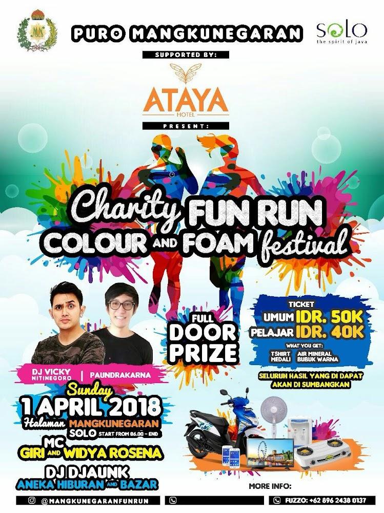Mangkunegaran Fun Run • 2018