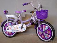 Sepeda Anak Piyo Piyo Sandaran 16 Inci