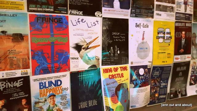{ErinOutandAbout} Toronto Fringe Festival