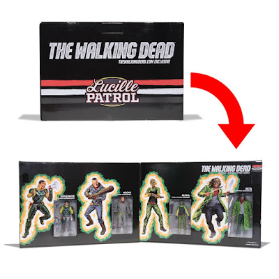 The Walking Dead Lucille Patrol Action Figure Box Set by Skybound x McFarlane Toys x Jason Edmiston