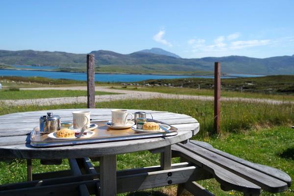 écosse north coast 500 road trip côte nord loch eriboll tearoom