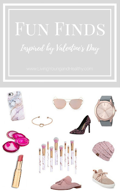 Fun Finds Vol. 1 | Inspired by Valentine's Day | www.livingyoungandhealthy.com
