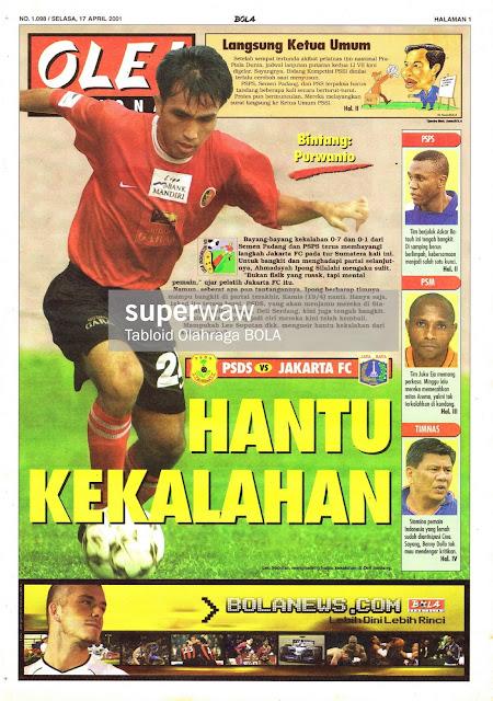 PSDS VS JAKARTA FC HANTU KEKALAHAN
