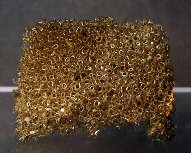 These Golden Vesicles Are Volcanic Rock