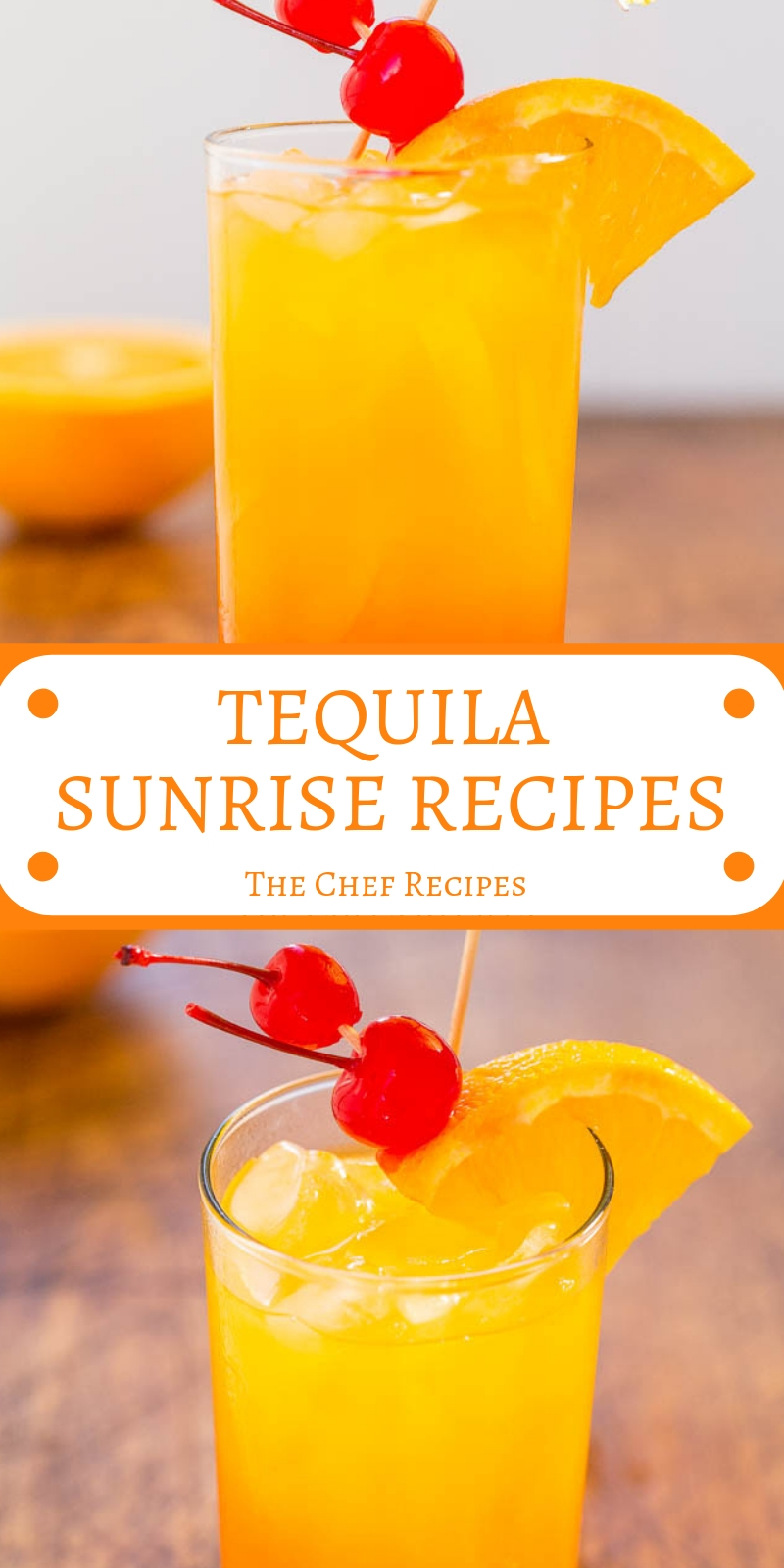 TEQUILA SUNRISE RECIPES