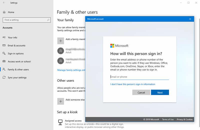 How to setup password-less Microsoft account on Windows 10? Kunal