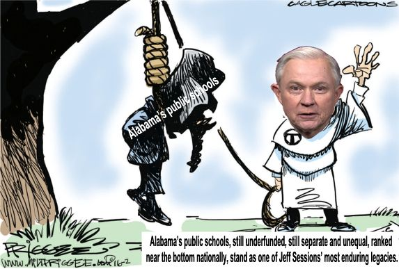 Image result for big education ape Jeff Sessions