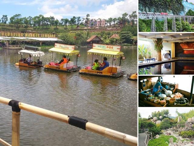 Fasilitas dan Harga Tiket Terbaru di Floating Market Lembang