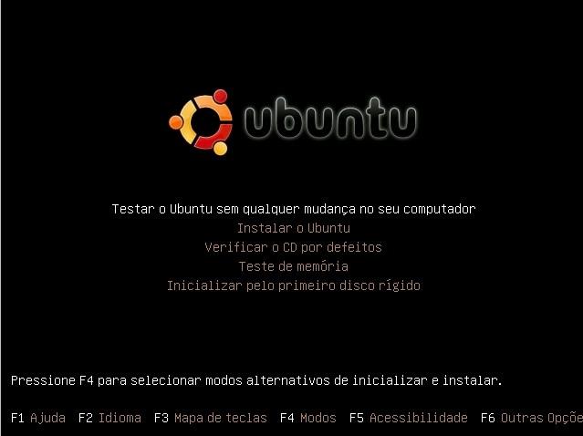 testar linux sem instalar