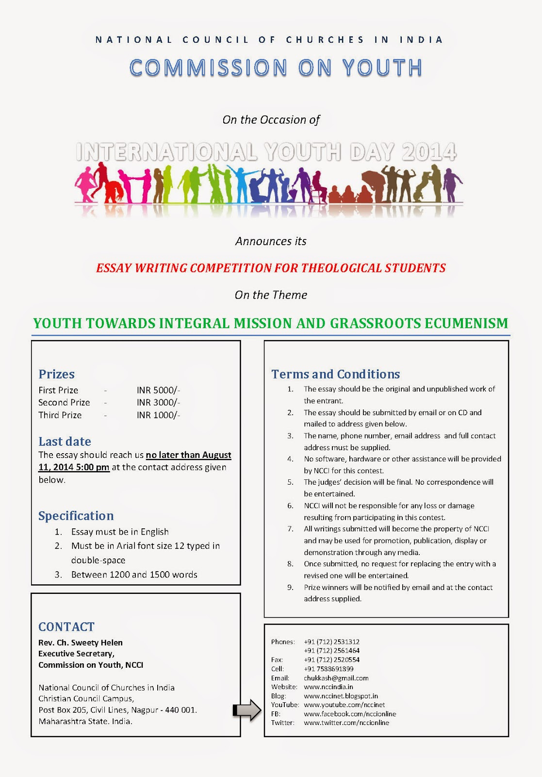 Youth essay international