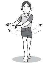 Mengayunkan Lengan : mengayunkan, lengan, Kesenian, Penjaskes, Melakukan, Irama, Gerakan, Mengayun, Lengan