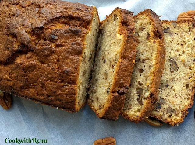 Whole Wheat Banana Bread | Cake