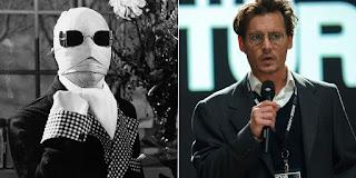 """Johnny Depp confirmado como """"Homem Invisível"""""""