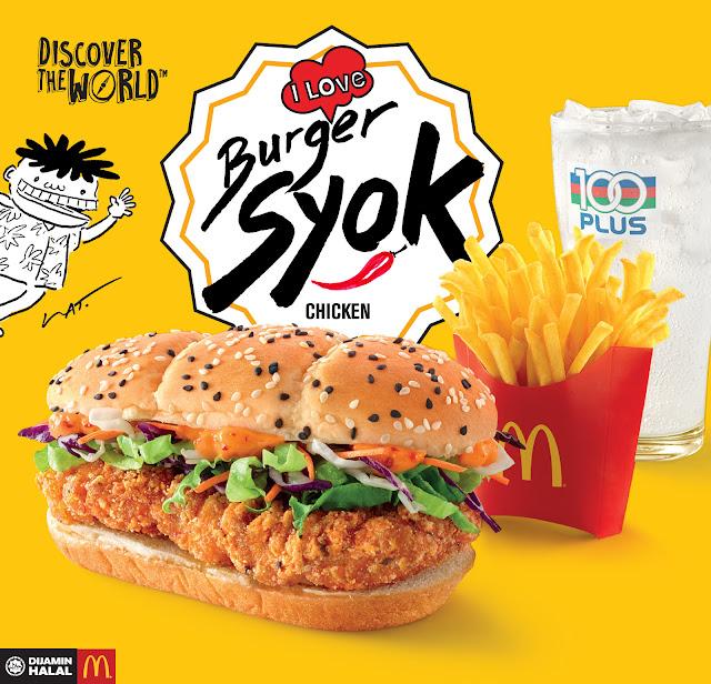 Burger Syok dari Mcdonalds Malaysia