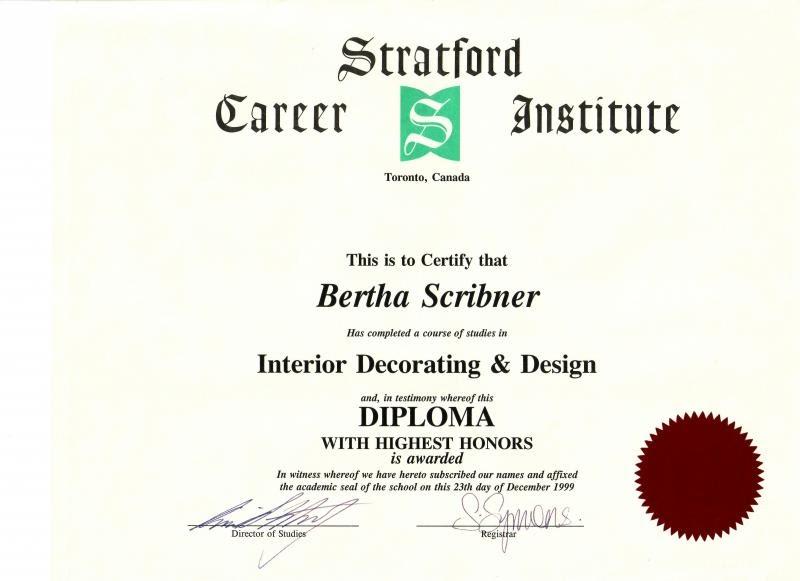 Interiors Design Properties Interior Certification Online