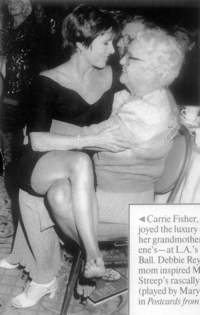 carrie fisher grandmother