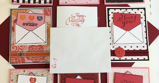 """Hello Note"" Noteworthy Collection by Richard Garay Handmade Valentine Cards"