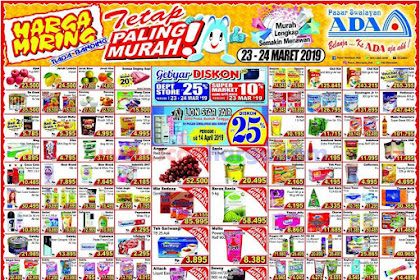 Katalog Promo Ada Swalayan 30 - 31 Maret 2019