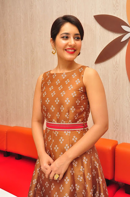 Rashi Khanna in Ritu Kumar Printed Sleeveless Dress