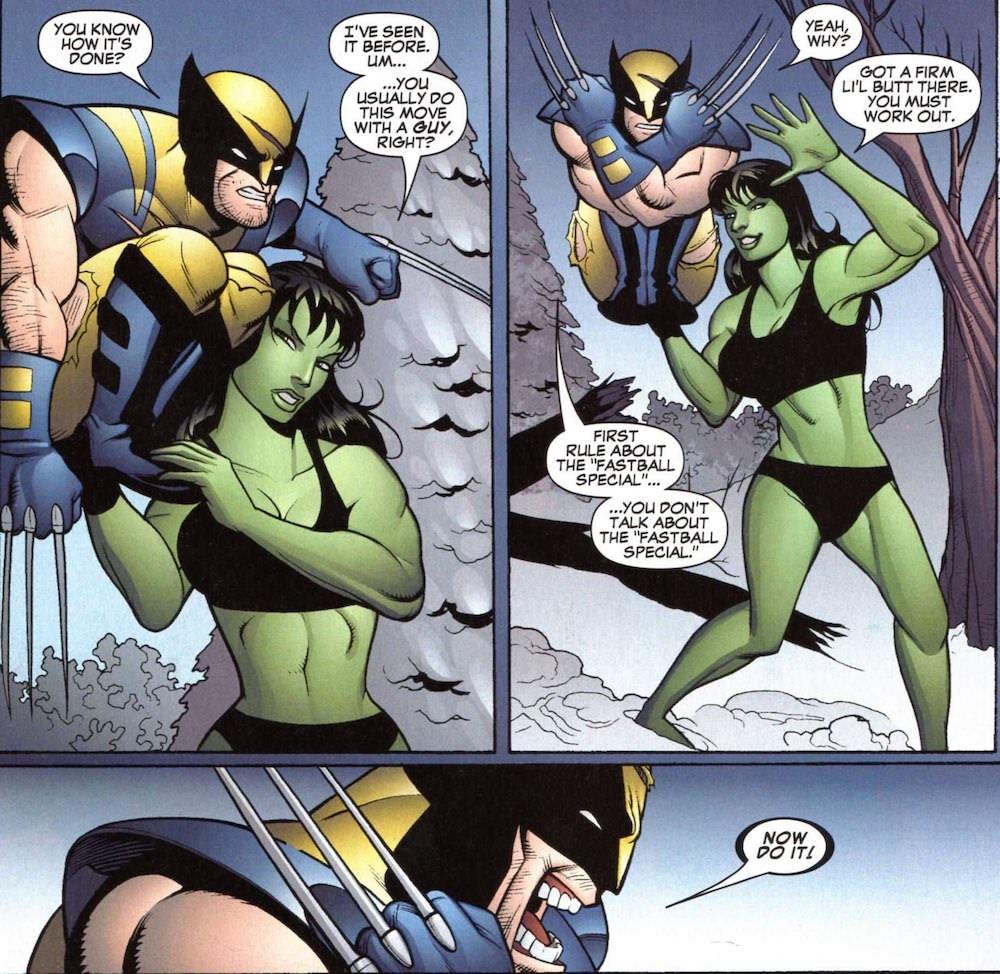 She-Hulk Fastball Special