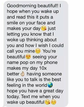 Good Morning Paragraphs For Her To Wake Up To