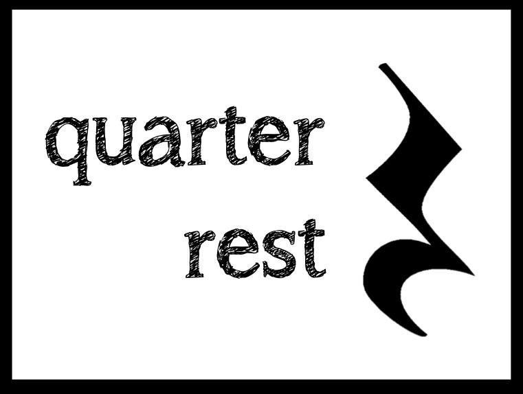 music coloring pages quarter rest - photo#25