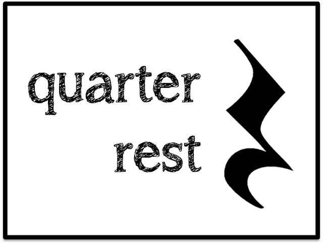 Quarter Note & Quarter Rest - Beth's Notes