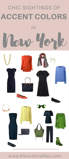 What Were They Wearing in New York? Chic Sightings of Accent Colors