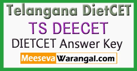 TS DEECET 2018 Initial Key Telangana DietCet Answer Key
